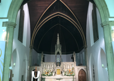 Church Lighting Electrical Installation