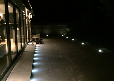 Outdoor Electrical Lighting Installation