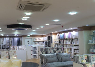 Commercial Shop Lighting Installation