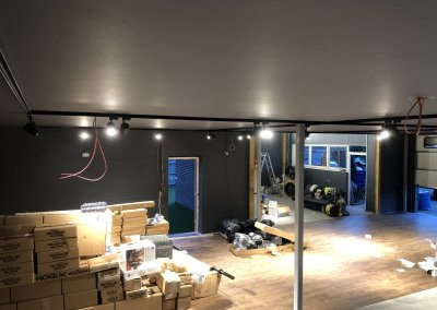 Commercial Electrical Installation at ARC Gym