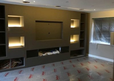 Electrical Smart System Installation in Home Cinema