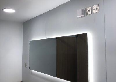 Commercial Bathroom Electrical Installation