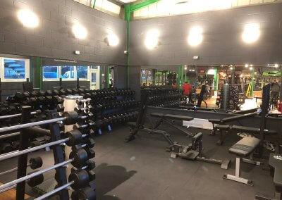 New electrical installation of ARC Gym